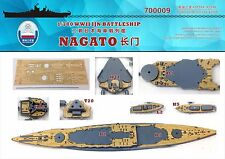 Chantier Naval 1/700 700009 Wood Deck IJN Nagato for Fujimi