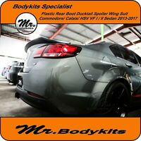 New Mr Plastic Boot Spoiler Ducktail Wing For VF HSV/Clubsport/R8/GTS/Senator