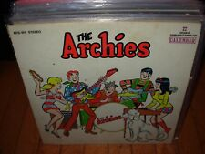 ARCHIES self titled ( rock ) calendar 101