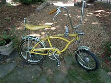 SCHWINN 1969 LEMON PEELER KRATE Sting-ray Bicycle -Vintage Bike- Ready for Show
