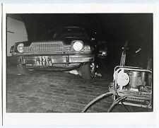 9 Photos Faits divers - Gamma - Mort du Commissaire Priseur Paul Martin - 1980 -