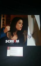 Scream 4 Neve Campbell 8x10 Photo Signed by Wes Craven