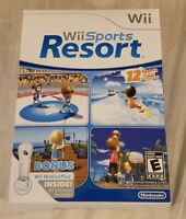 Nintendo Wii Sports Resort BIG BOX ONLY No Game or Manuals Included, Replacement