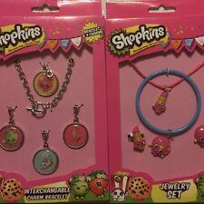 Shopkins Charm Bracelet Jewelry Set Gift Set Stocking Stuffers (B108)