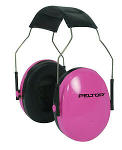 3M Peltor Kid Noise Reduction Earmuffs Headband Hearing Protection Ear Safety