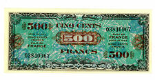 France ... P-119a ... 500 Francs ... 1944 ... *AU*