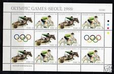 Ireland 1988 Olympic Games Sheet SG 689a MNH
