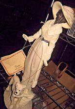 "DEAR ""Walking the Dog"" Sculpture by A. Belcari"