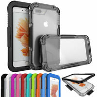 Waterproof Clear Hard Case Full Armor Rugged Impact Cover For iPhone 6 7 Plus 8
