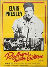 Elvis Presley Kinoplakat Filmplakat Filmposter>Rhythmus hinter Gitarren< 738