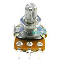 5Pcs WH148 Type B1K Ohm Linear Taper Rotary Potentiometer Panel Pot 3 Pin NEW