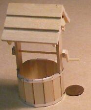 Pozo jardín escala 1:12 Casa de Muñecas en Miniatura Accesorio De Jardín 400