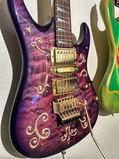 "Raven West Custom ZPG Electric Guitar - ""Purple Haze Prince"""