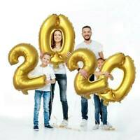 Hot 2020 Number Balloon New Year Christmas Family House Party Decorations DIY