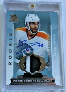 2014-15 The Cup Rookie Patch Autographs #115 Pierre-Edouard Bellemare 70/249