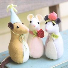 PICKLE MOUSE - Sewing Craft PATTERN - Soft Toy Felt Doll Bear Rabbit
