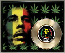 Bob Marley 45 Record Poster Art Music Memorabilia Plaque Wall Decor 2