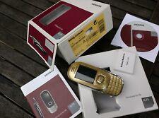 100% Original Siemens SL75 Gold Limited Edition Escada Handy Full Package NEW!
