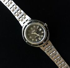 JB Champion vintage watch band 19mm compatible with Zodiac Super Sea Wolf 1970s