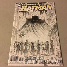 BATMAN #686 Variant DC Comics Key Issue SEE PICS Kubert Sketch Cover