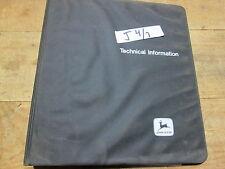 Used John Deere Technical Manual Tm-1372 for 4000 / 5000 Generators