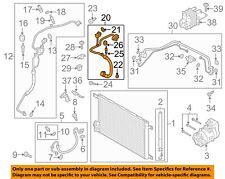 AUDI OEM A/C AC Condenser/Compressor/Line-Suction Line 5Q0816743L
