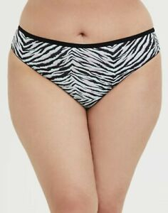 Open Back Panties Womens Plus Size Cage Back Microfiber Panty