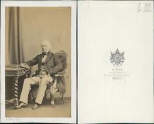 Ken, Paris, monsieur de Larrue Vintage CDV albumen carte de visite CDV, tira