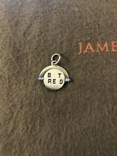 James Avery Retired Best Friends Spinner Charm Sterling Silver