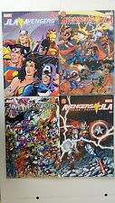 Avengers/JLA #1-4 (2003) 4 issue mini-series full set SPANISH EDITION ARGENTINA