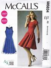 McCall's Sewing Pattern Misses' Easy Mellisa Watson Dresses Size 8 -24 M6834