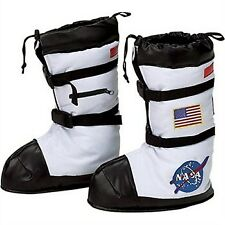 Aeromax Astronaut BOOTS Size Large Boys Childrens Costumes