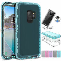 Case Poetic Guardian Clear Hybrid Bumper For Samsung Galaxy S9 S8 Plus Note 9 8