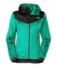 New New Womens The North Face Oso Hooded Coat Jacket Green Small