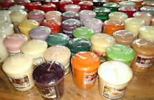 Yankee Candle Votives Samplers many fragrances some rare PICK THE ONES YOU WANT