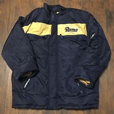 Vintage St. Louis Rams Puma NFL Football Jacket Sz L