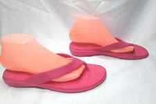 Women's Pink Okabashi Thong Flip Flops Size US Large