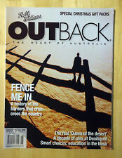 RM Williams Outback Magazine *Issue 62 *December 2008 / January 2009