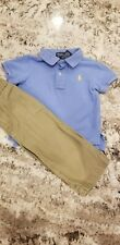 Baby Boy Ralph Lauren Polo Collared Shirt and Chaps Khakis