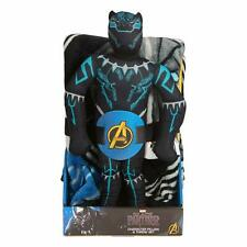 "NEW Marvel BLACK PANTHER 40"" x 50"" Soft THROW BLANKET & PILLOW Plush Figure"