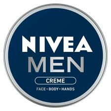 NIVEA MEN Moisturiser, Face+Body+Hand Cream, 30ml,75ml & 150ml UK