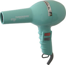 ETI 2000 Professional Hair Dryer Aqua 1500W Long Cord, 1 Nozzle, 2 Speeds