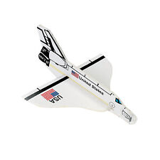 12 Birthday Party Favors Toys Prizes Astronaut MINI FOAM SPACE SHUTTLE GLIDER
