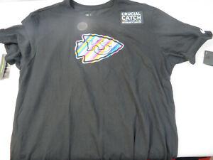 2020 NFL Kansas City Chiefs Nike Crucial Catch Sideline Performance T-Shirt L