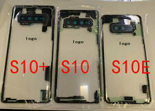 Transparent Glass Battery Cover Back Panel For Samsung Galaxy S10 S10+ S10e