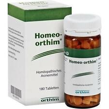HOMEO ORTHIM BLUTHOCHDRUCK TABLETTEN 180ST 5370115