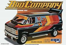 MPC 1:25 1982 Bad Company Dodge Van Plastic Model Kit MPC824