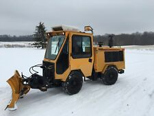 Trackless MT5T Tractor snowblower and plow