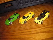 Nice Lot of 3 Different Hot Wheels Lotus Project M250 & Elise Exotic Sports Cars