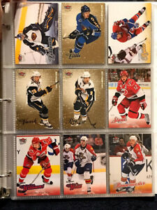 2008-09 NHL Fleer Ultra Trading Card Selection (Gold Medallions included)